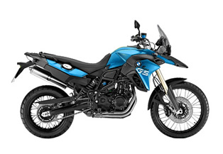 Motorcycle rental - BMW F 800 GS